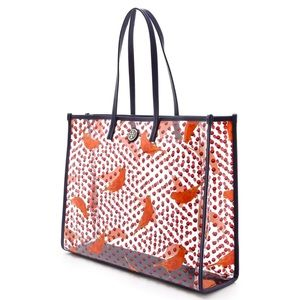 TORY BURCH lizzie east west tote
